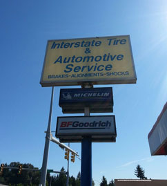 Check out our tires at Interstate Tire & Automotive